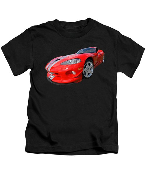 Dodge Viper Gts Kids T-Shirt