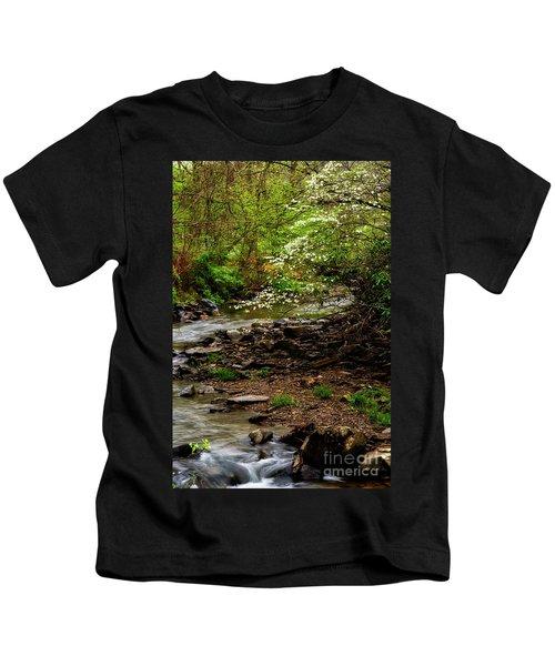 Dogwood At The Bend Kids T-Shirt