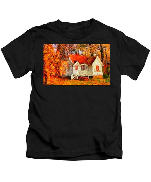 Doll House And Foliage Kids T-Shirt