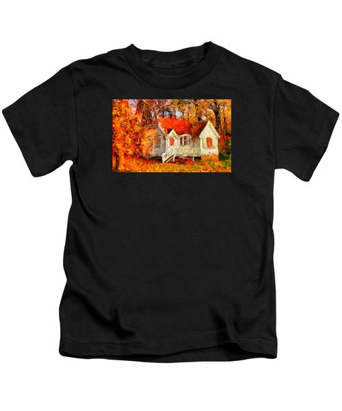 Doll House And Foliage Kids T-Shirt