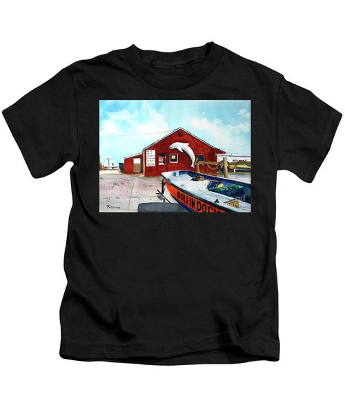Dolphin Dock II Kids T-Shirt