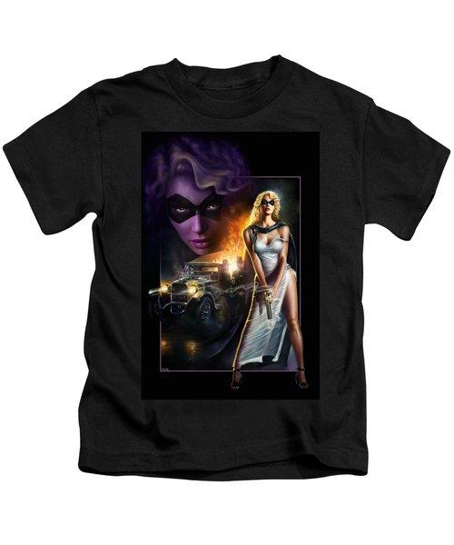 Domino Lady Kids T-Shirt