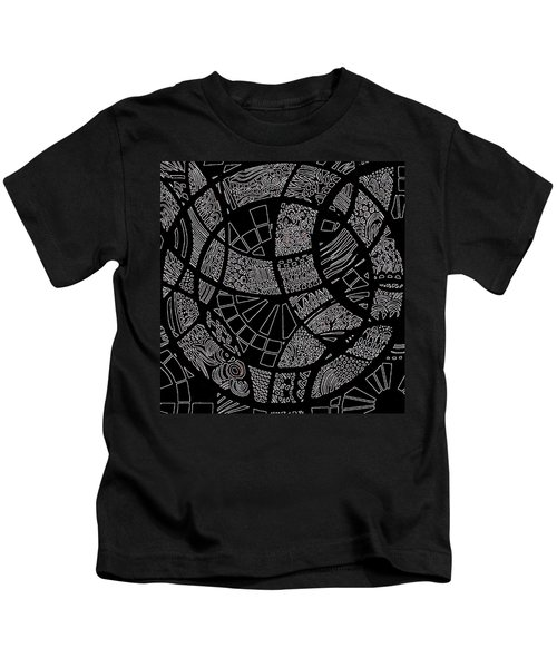 Doodle Art 1 Kids T-Shirt