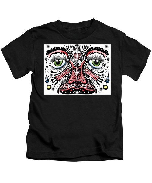 Doodle Face Kids T-Shirt