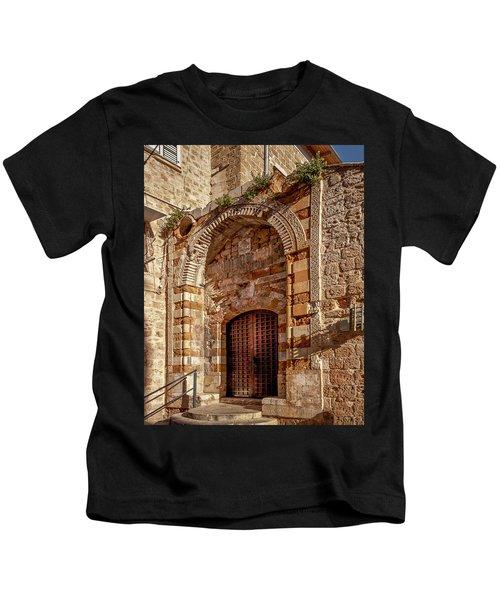 Doorway In Akko Kids T-Shirt