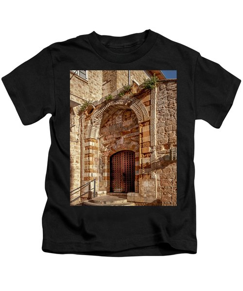 Doorway In Akko Kids T-Shirt