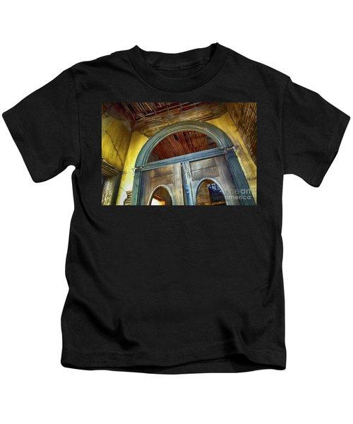 Doorway Jerome Arizona Kids T-Shirt
