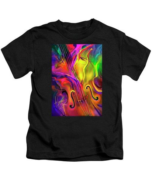 Double Bass Solo Kids T-Shirt