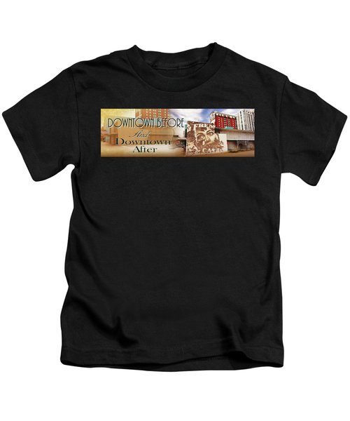 Downtown Before And Downtown After Kids T-Shirt