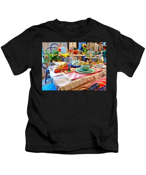 Downtown Greenville Kids T-Shirt