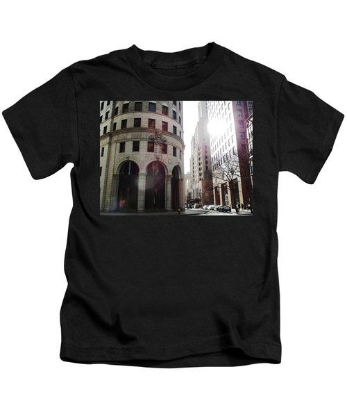 Downtown Providence Kids T-Shirt