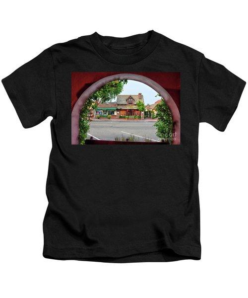 Downtown Solvang Kids T-Shirt
