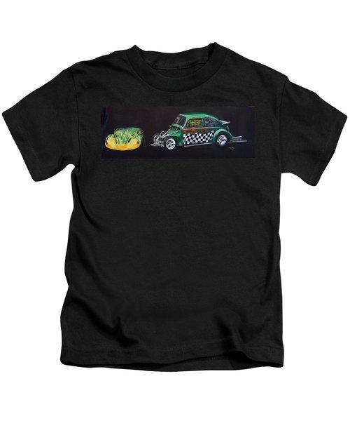 Drag Racing Vw Kids T-Shirt