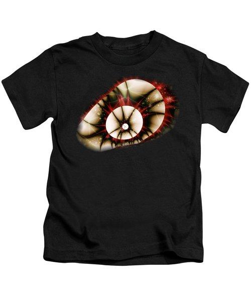 Dragon Eye Kids T-Shirt by Anastasiya Malakhova