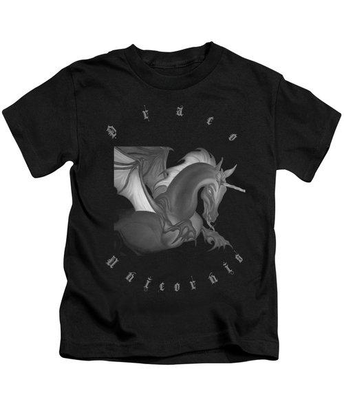 Dragon Unicorn  Kids T-Shirt