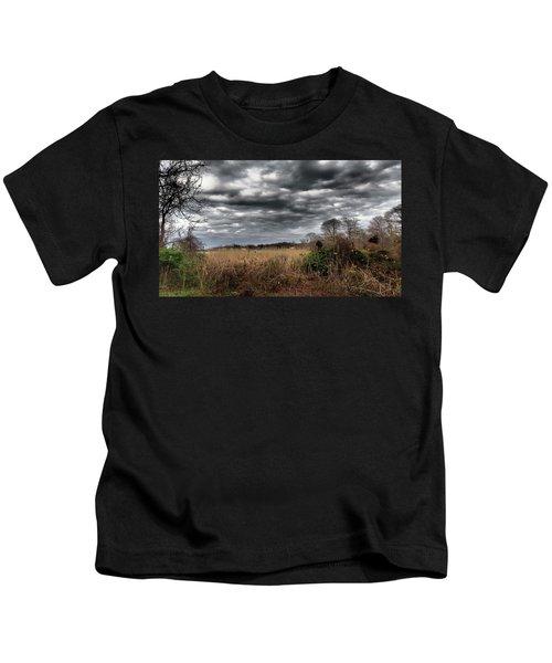 Dramatic Landscape Kids T-Shirt