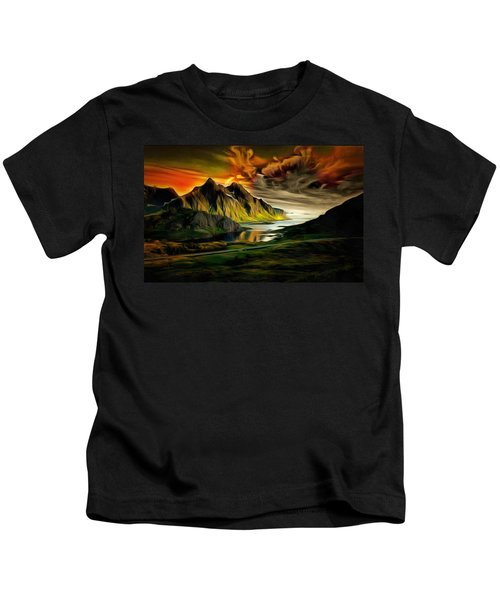 Dramatic Skies Kids T-Shirt