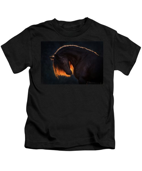 Drawn From The Darkness Kids T-Shirt