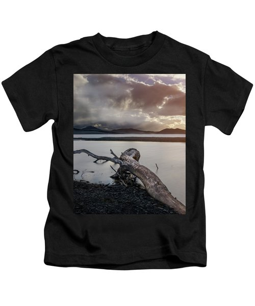 Driftwood At The End Of The World Kids T-Shirt