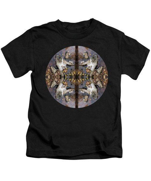 Driftwood Looking Up To The Heavens Kaleidoscope  Kids T-Shirt