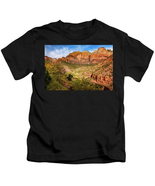 Driving Into Zion Kids T-Shirt