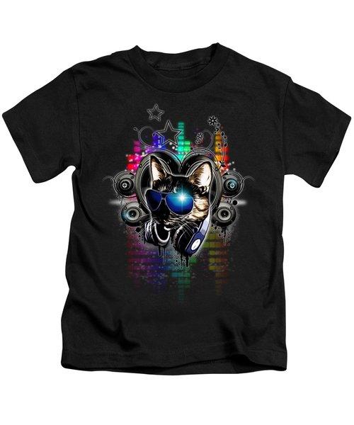 Drop The Bass Kids T-Shirt