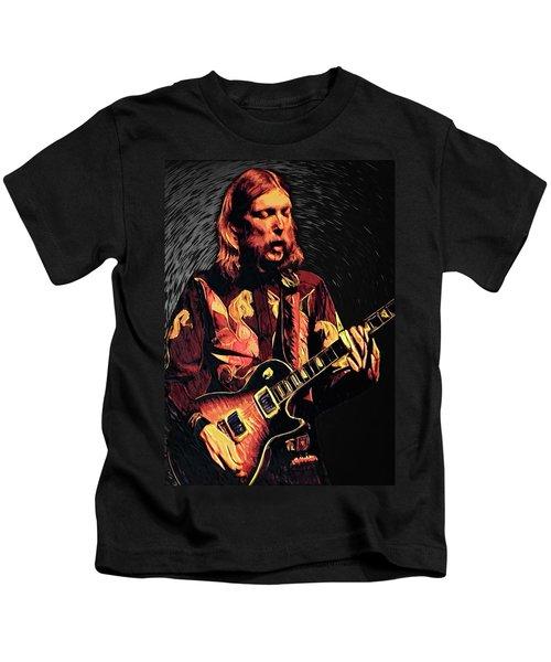 Duane Allman Kids T-Shirt