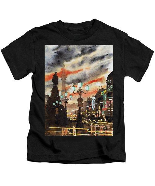 Dublin... The Ghost Of Nelson Kids T-Shirt