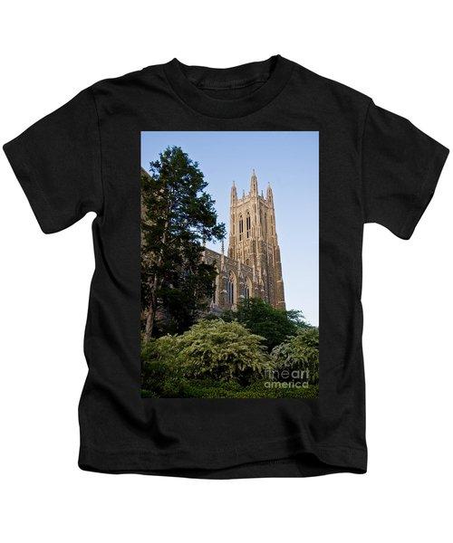 Duke Chapel Side View Kids T-Shirt