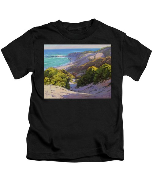 Dunes At Soldiers Beach Kids T-Shirt