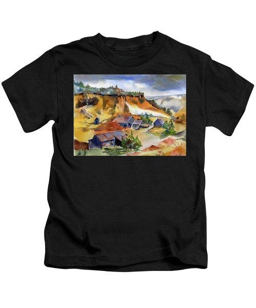 Dutch Flat Diggin's Gold Kids T-Shirt