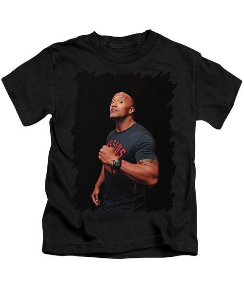 Dwayne Johnson Kids T-Shirt