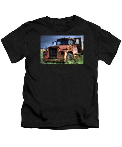 Earl Latsha Lumber Company Version 3 Kids T-Shirt