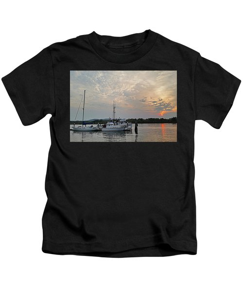 Early Morning Calm Kids T-Shirt