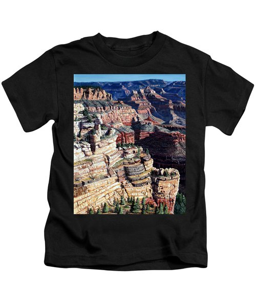 Early Morning From The South Rim Kids T-Shirt
