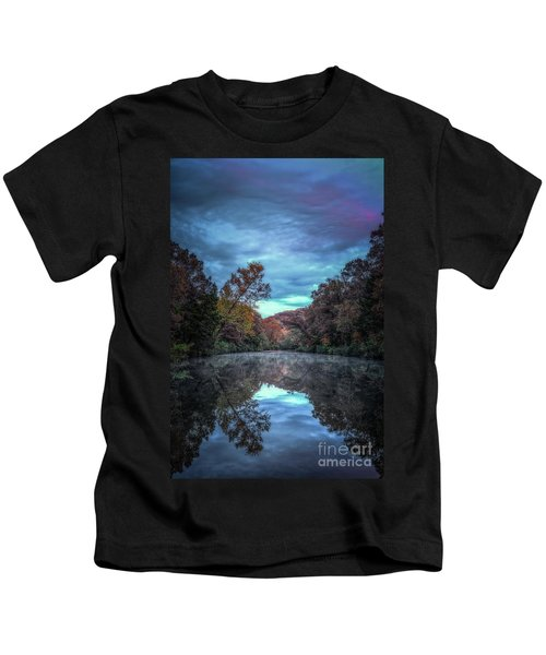 Early Morning Reflection Kids T-Shirt