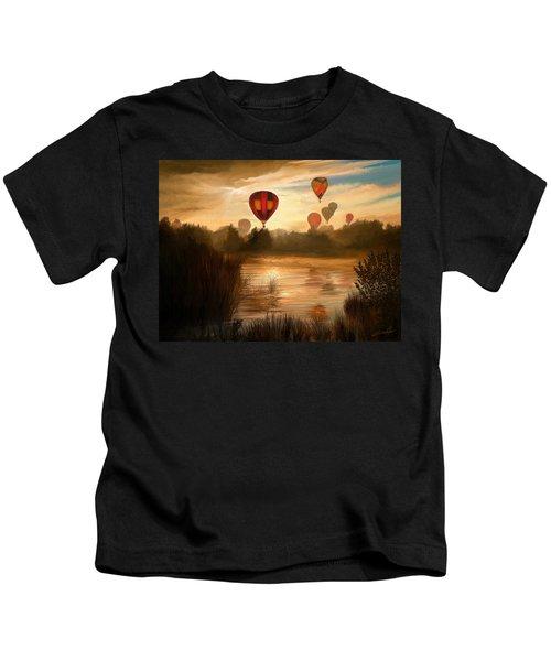 Early Morning Rise Kids T-Shirt