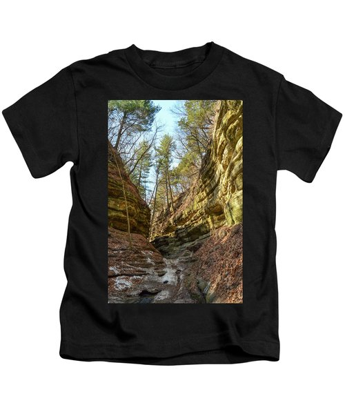Early Spring In The Canyon Kids T-Shirt