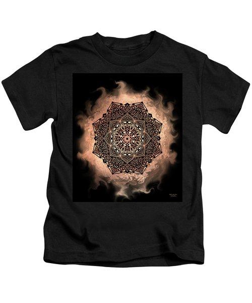 Earthy Mandala Kids T-Shirt