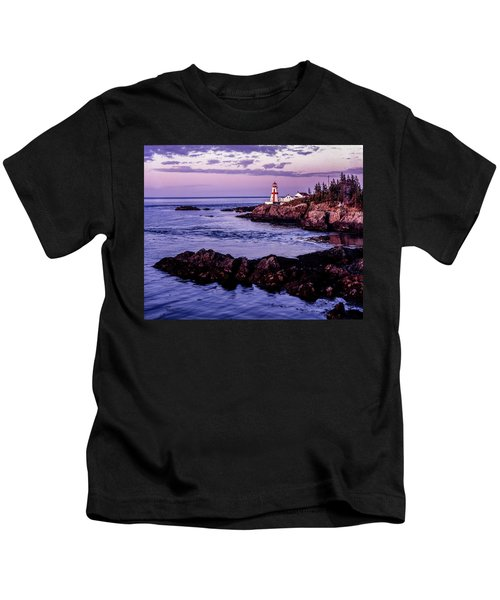 East Quoddy Head, Canada Kids T-Shirt