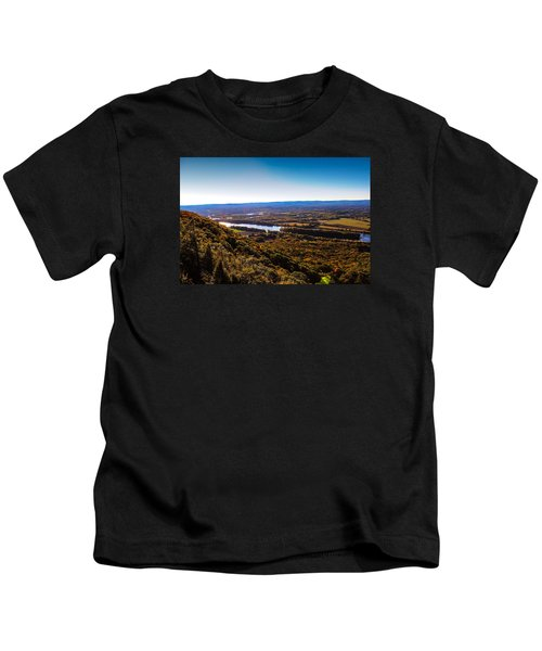 Easthampton View From Summit House Kids T-Shirt
