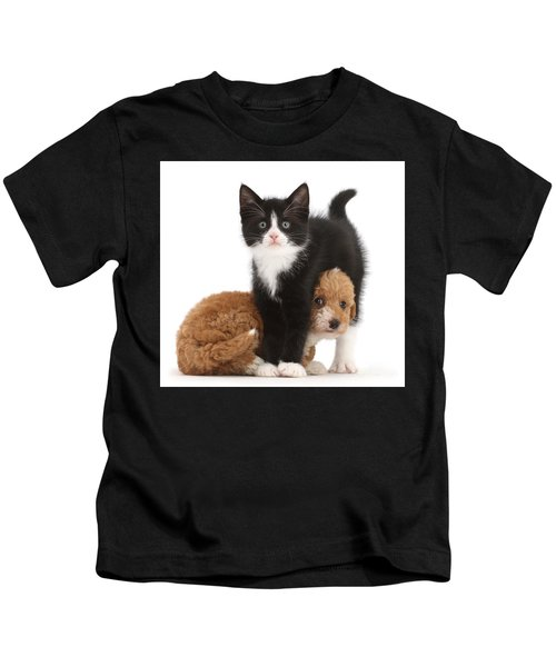 Easy To See Which One Of Us Is The Boss Kids T-Shirt