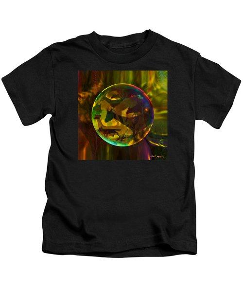 Eat Prey Run  Kids T-Shirt