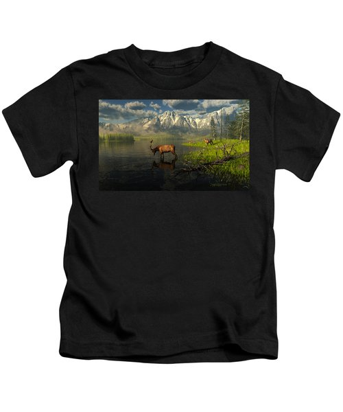 Echoes Of A Lost Frontier Kids T-Shirt