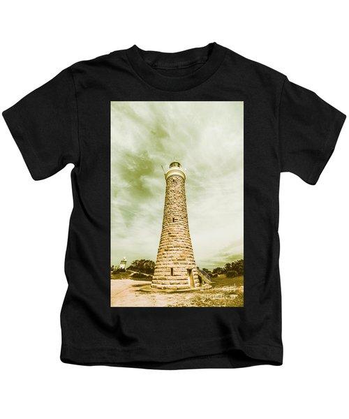 Eddystone Point Lighthouse Kids T-Shirt
