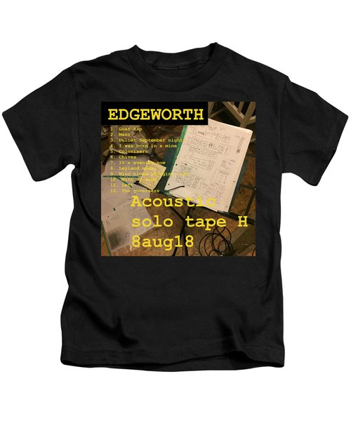 Edgeworth Acoustic Solo Tape H Kids T-Shirt