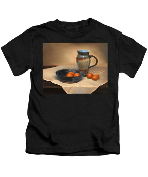 Eggs And Pitcher Kids T-Shirt