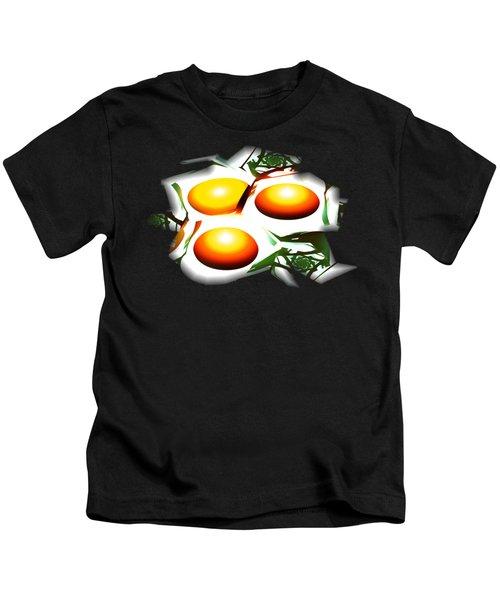 Eggs For Breakfast Kids T-Shirt