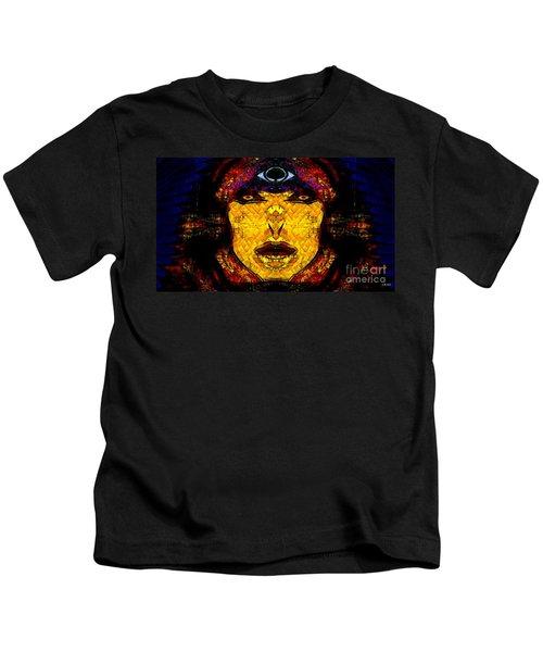 Egypt Goddess  Raet Aka Raettawy Kids T-Shirt