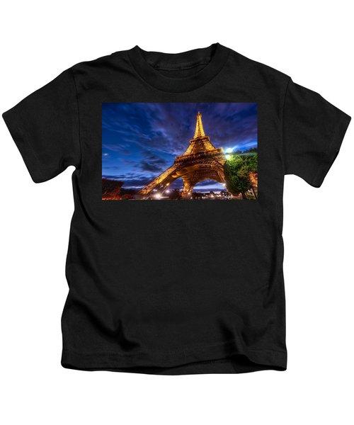 Eiffel Tower Kids T-Shirt